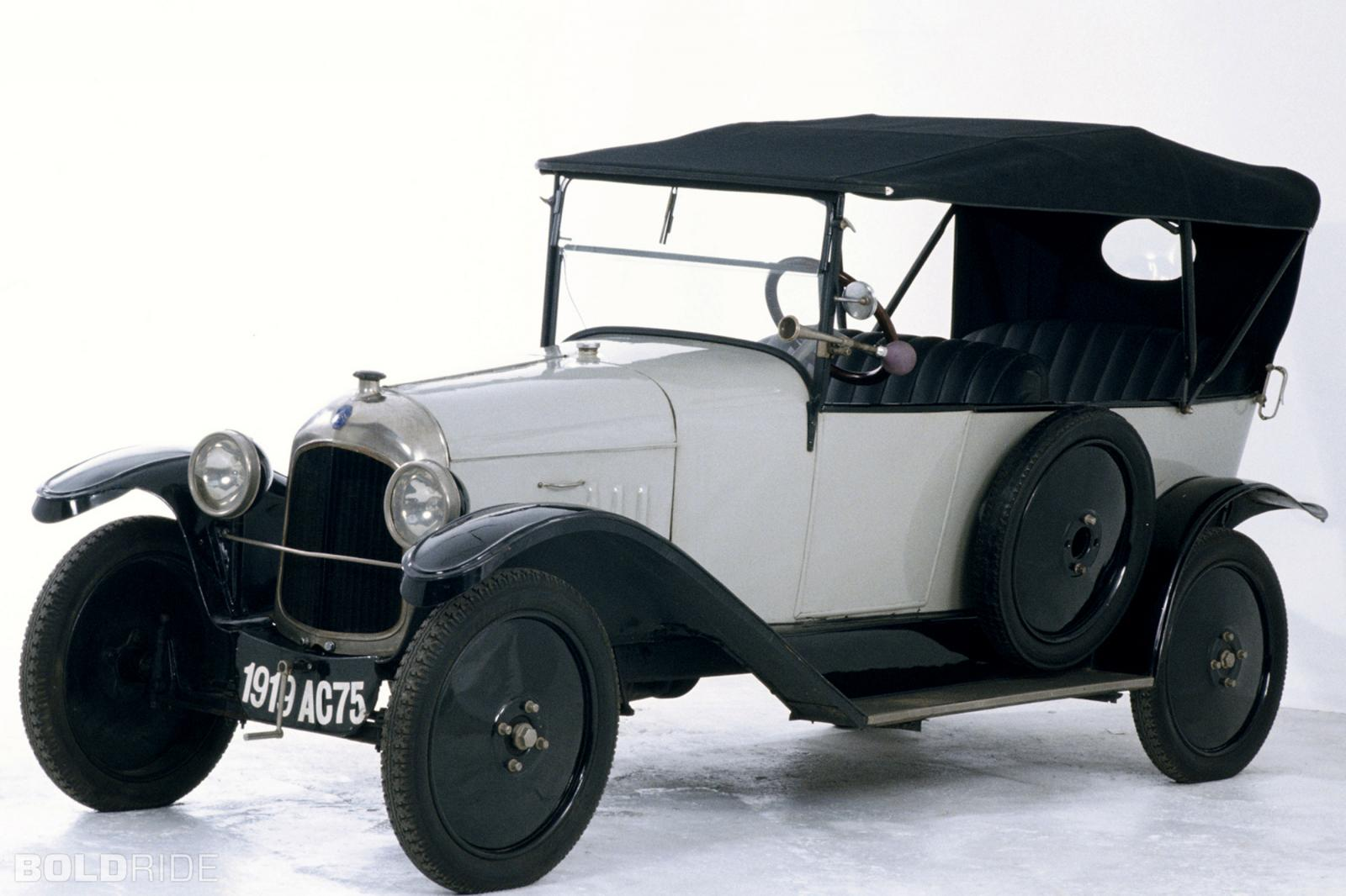 10 HP Type A Torpédo 1919