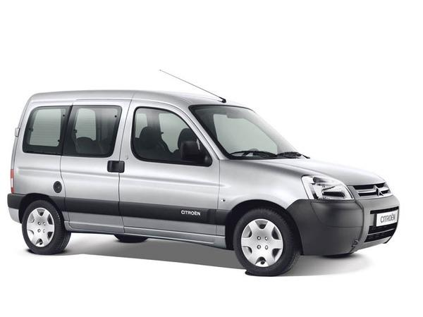 Berlingo X 2002, restyling, 5 míst