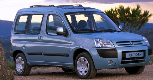 Berlingo Multispace 2002, restyling