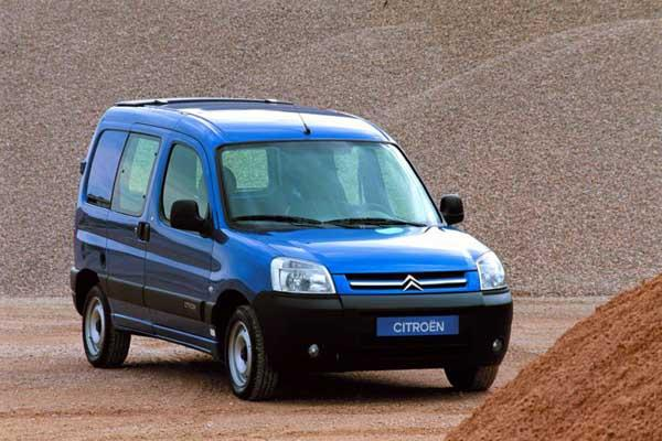 Berlingo VU 2002, restyling