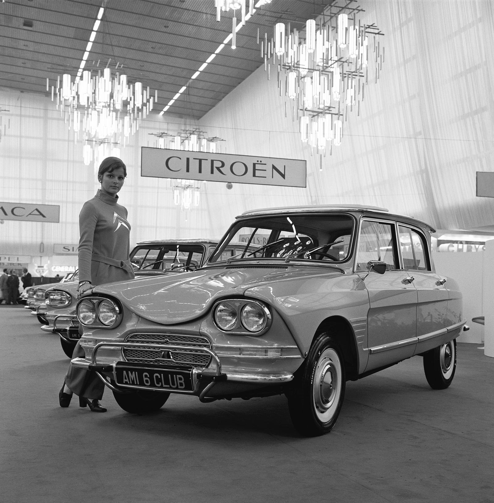 AMI 6 Club - Salon de l'automobile 1966