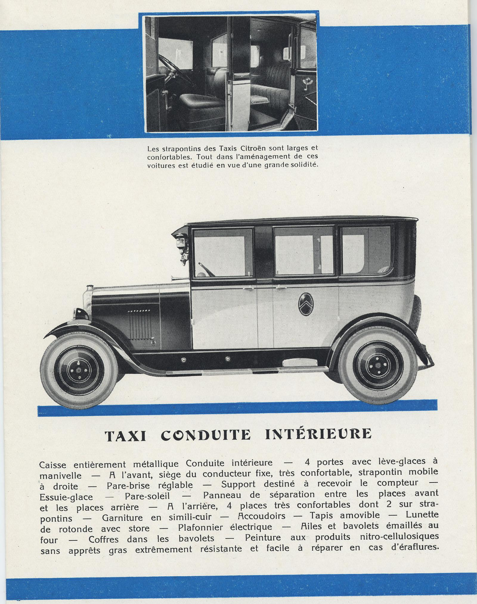 Brožura Taxis 10 HP