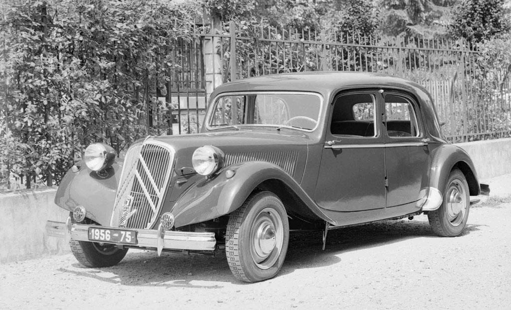 Traction 15 SIX H 1955