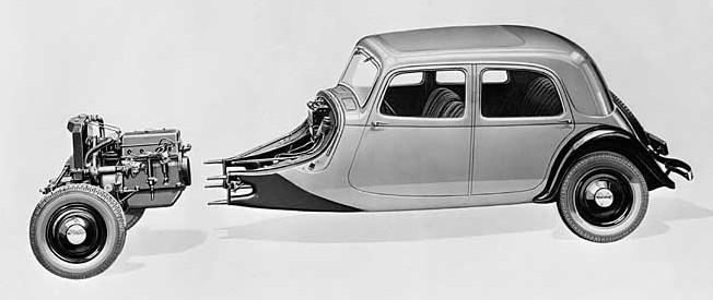 Skica Traction 7A 1934
